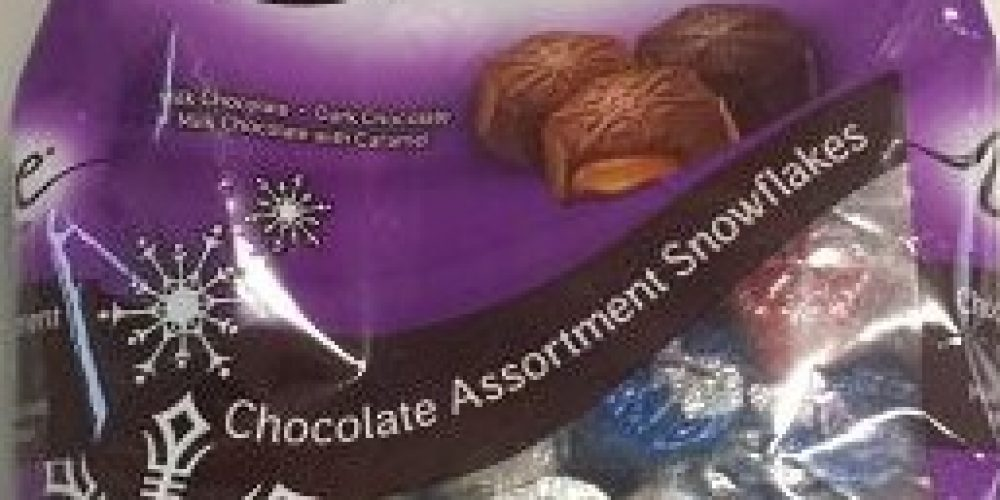 DOVE® Chocolate Assortment Snowflakes
