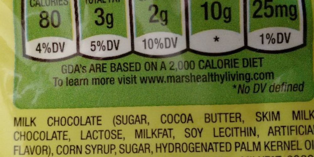 Milky Way allergen statement does not list gluten